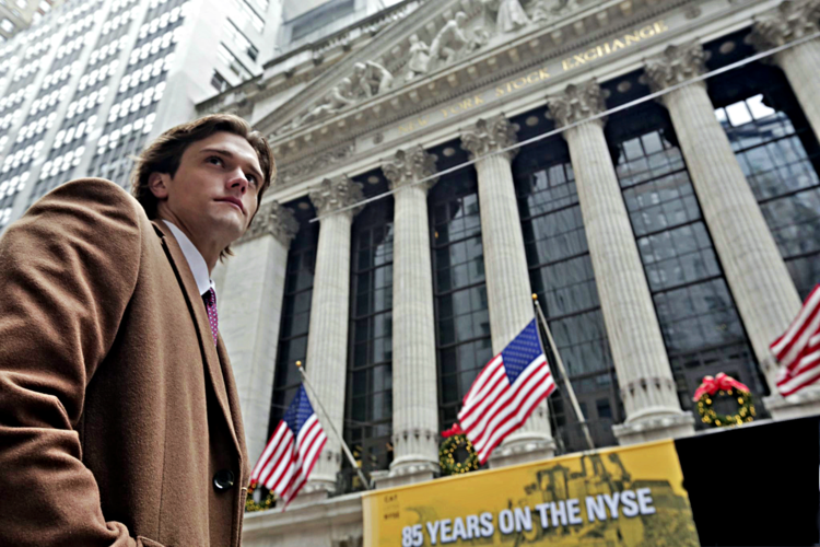Scott at the Stock Exchange