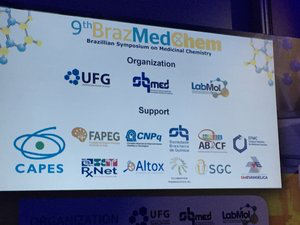 Collaborations Pharmaceuticals, Inc. were proud supporters of BrazMedChem 2019