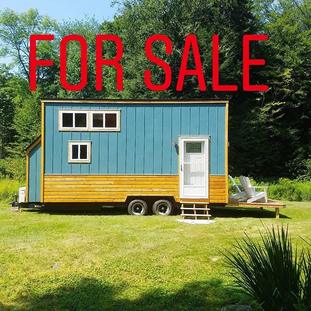 Hey everyone!!! We are partnering up with Tiny Living Spaces for an exciting announcement - the 8x20 Lil Blue Tiny House is for sale!!! Only $41,800. . She's on-grid ready and has some awesome features like a dropdown porch, egress skylight, HUGE bathroom, tons of storage, and sliding glass doors. . Utilies include electric heat and propane on-demand hot water heater. Come and get her before the winter! . MORE AT OUR WEBSITE - CLICK THE LINK IN THE BIO!! . #tinyhouse #tinyhouseonwheels #thow #tinyhouseforsale #lilblue #tinyhousecrafters #ongrid #tinyliving #tinyhousemovement #minimalism #tinyhome #homeiswhereyouparkit #diy #livesimply #tinyhousebigliving #homeonwheels #vermont