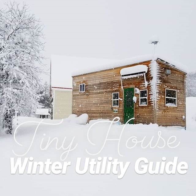 Winter is almost here! Are you ready??? ❄❄❄ Check out the UPDATED ~ Winter Utility Guide ~  on the blog! ❄❄❄ Learn how to survive winter in a tiny house and manage your sensitive utilities at the same time. This is a must read for anyone planning on living in a tiny house in New England. ❄❄ Link is in the bio! . Part 1: Maintenance, propane, and electricity Part 2: All about water!! Part 3: Insulation, humidity, and wood stoves . . #tinyhouse #tinyhousemovement #tinyhouseblog #livesimply #utilities #offgrid #diy #tinyhousedesign #thow #tinylife #tryittiny #tinyhouseonwheels #minimalism #buildingscience
