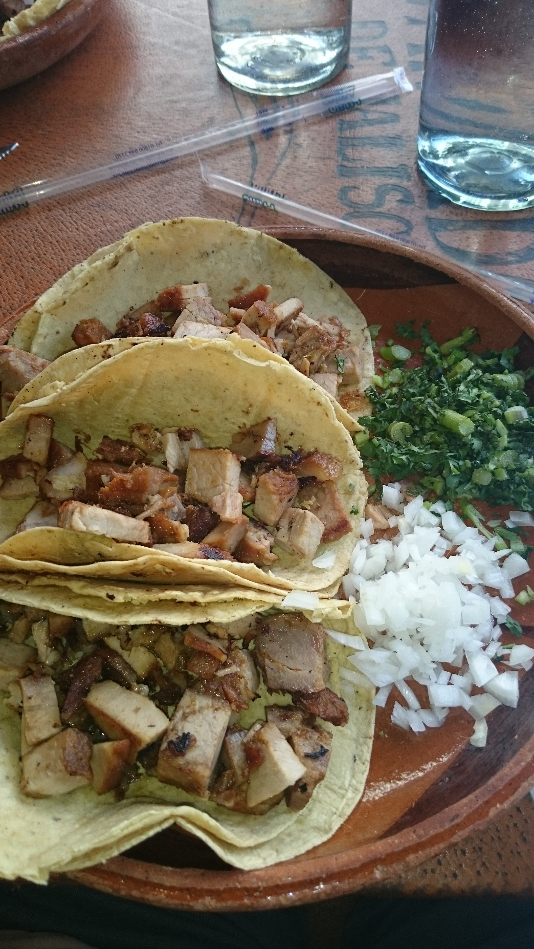 Can't go to Mexico and not have tacos!