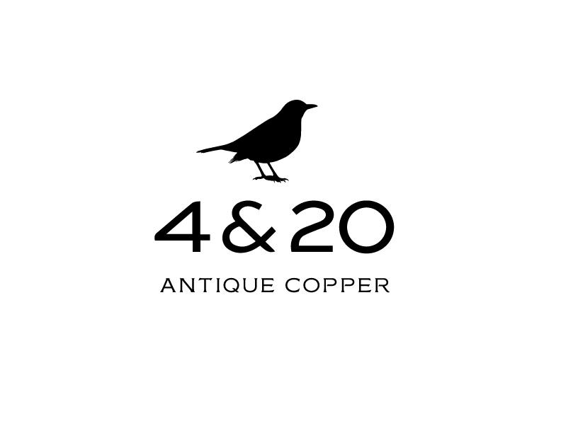 4 & 20 Antique Copper