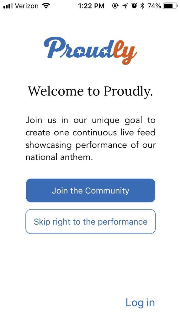 Proudly - Welcome