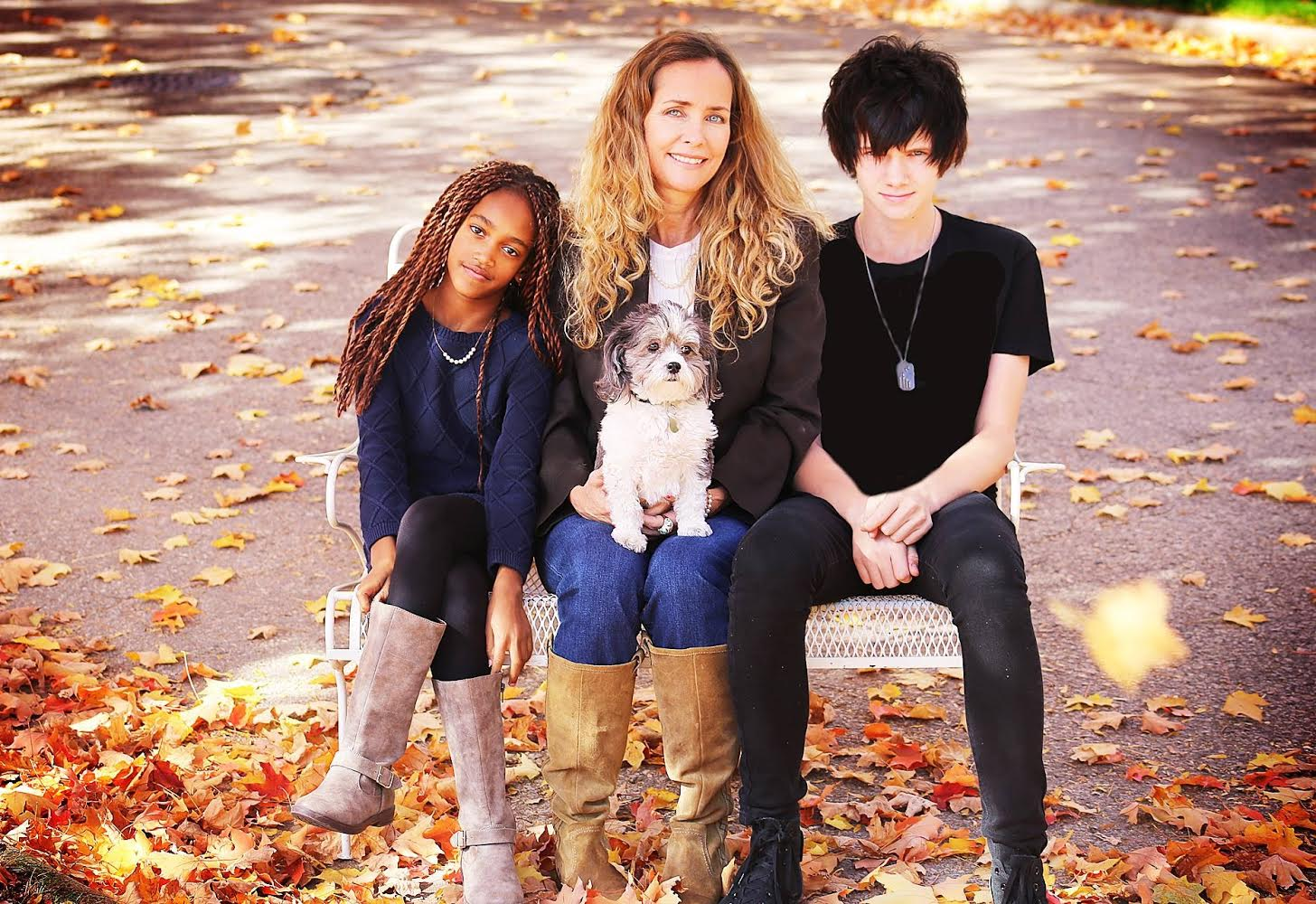 Marit and her kids