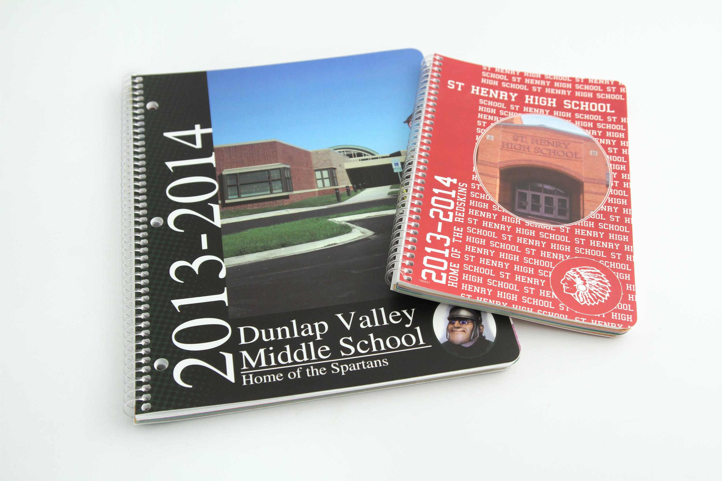 School Planner Covers - Digitally Printed
