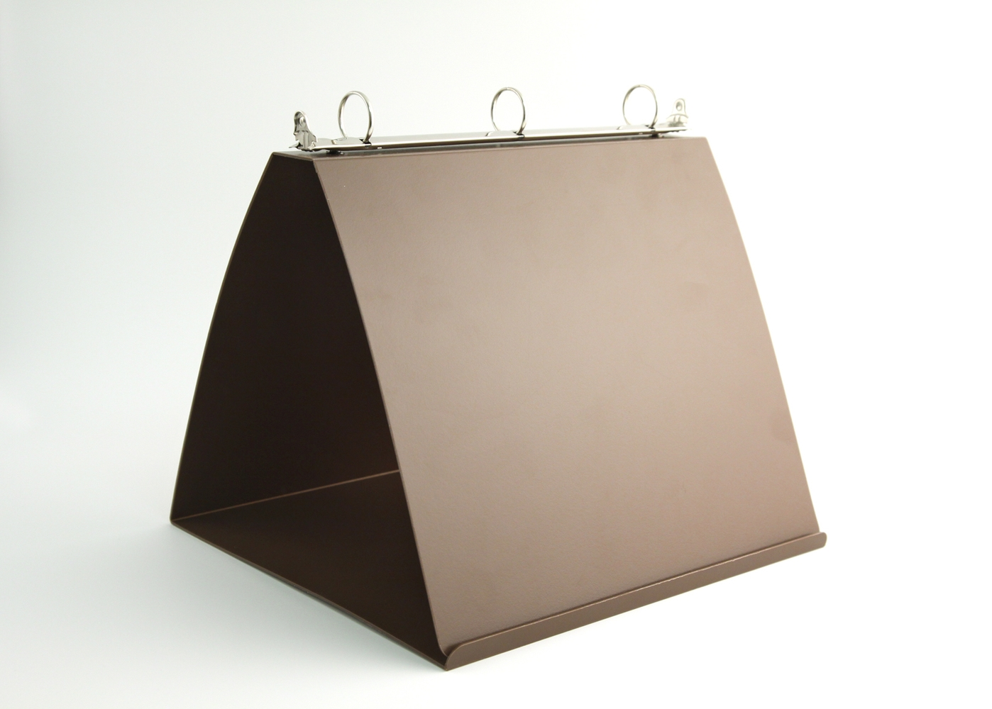 Easel Binder with Heat-Bend Lip