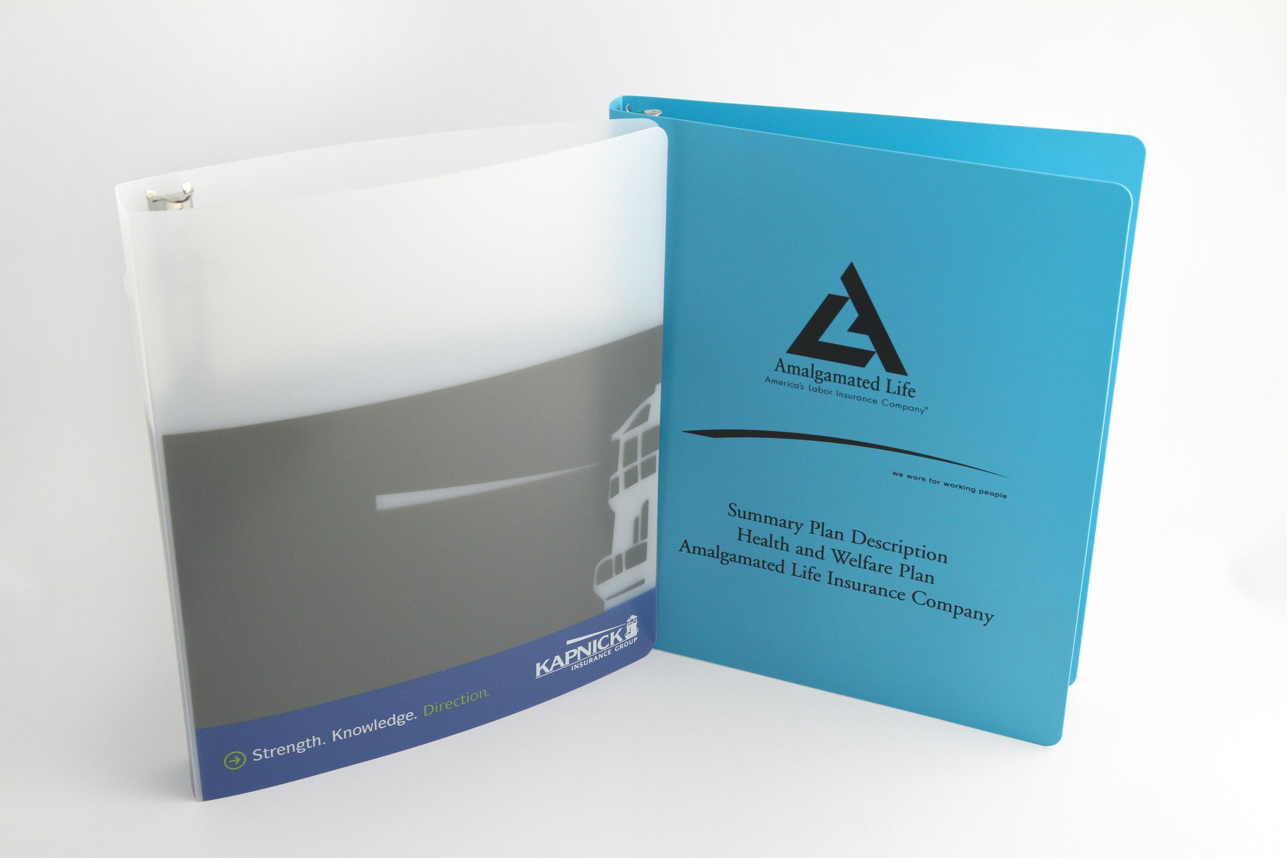 PE Binders- Screen Printed