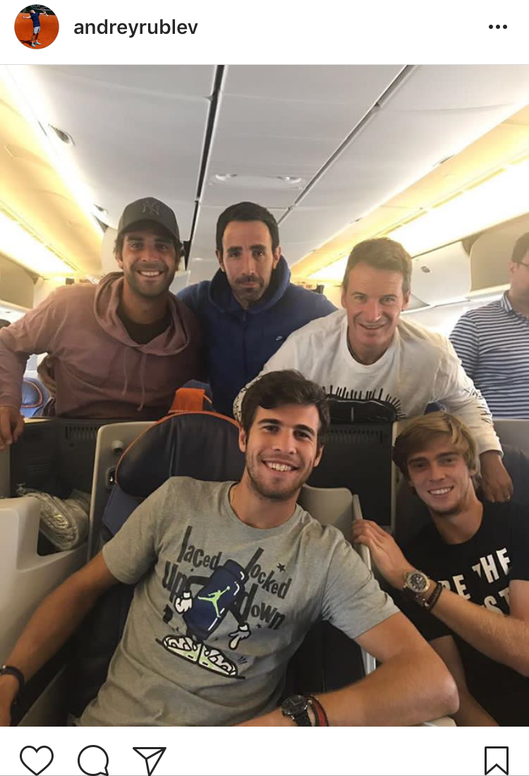 4.) Andre & team on their way to the next tournament