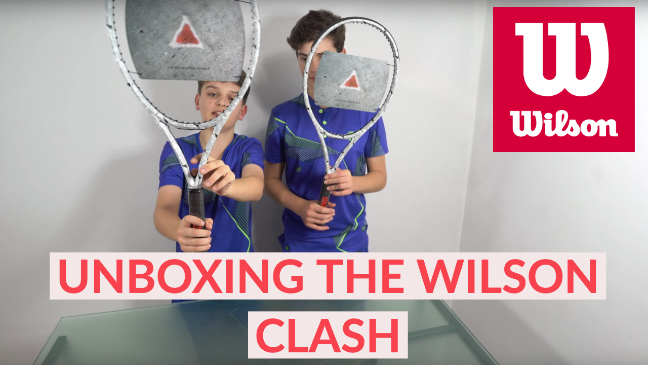 We unboxed Wilson clash prototype raquets - You can buy them in 2019
