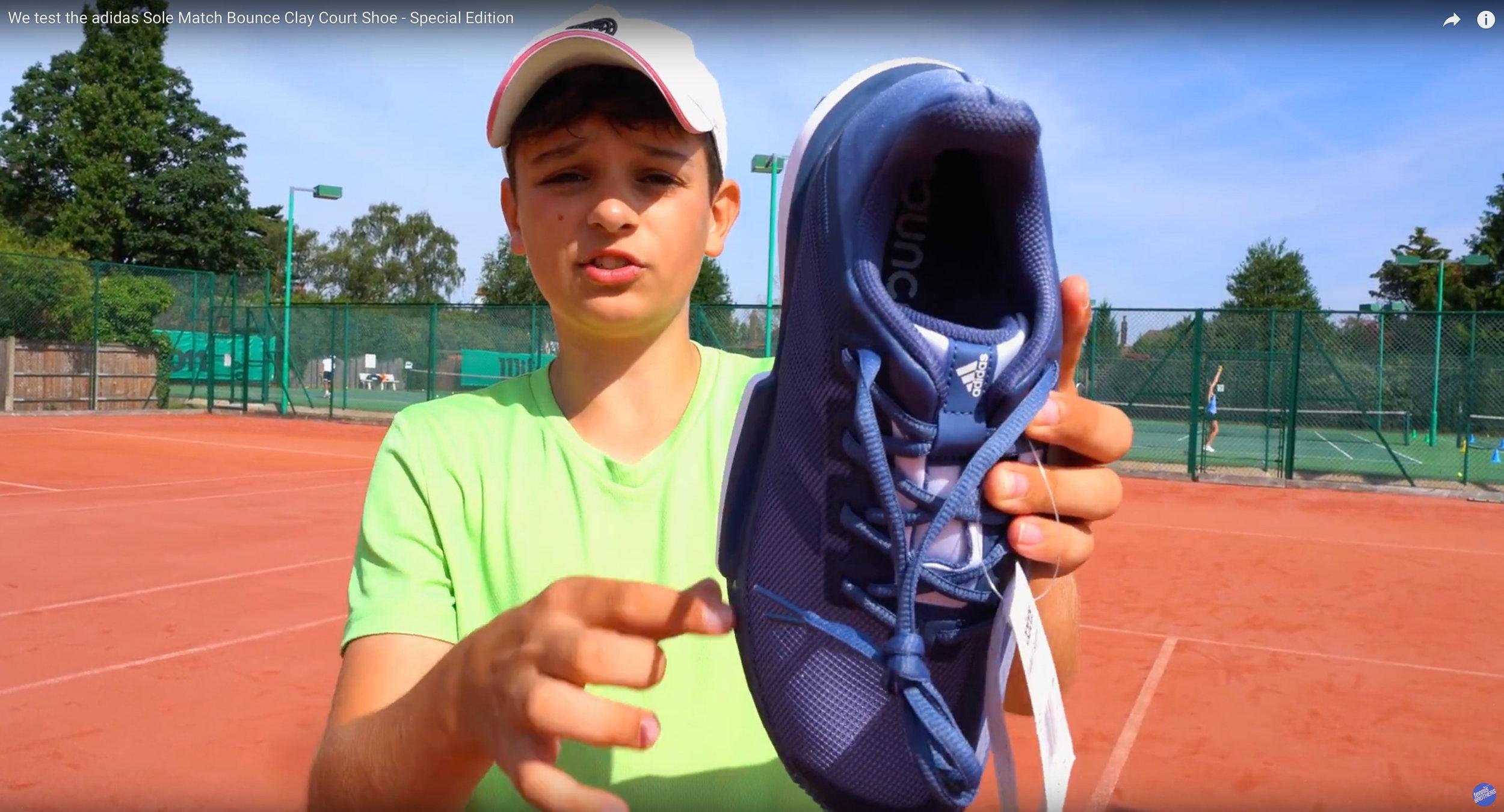 adidas Sole Match Bounce - Does Felix like the shoes too?