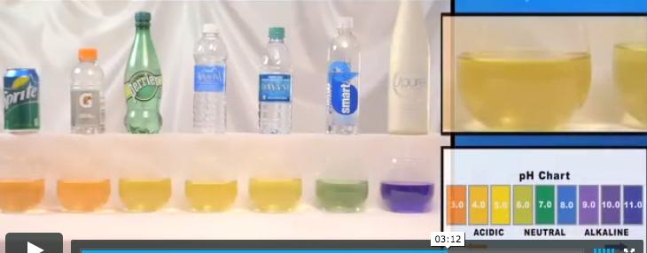 Not all water is equal. Acidic = disease. Alkaline = healthy