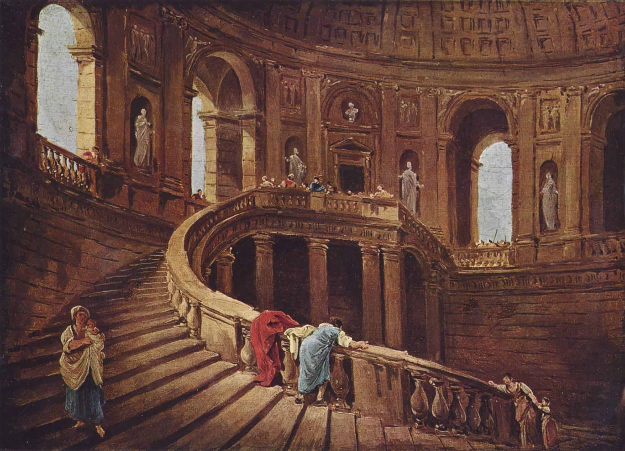 Palazzo Farnese - Hubert Robert