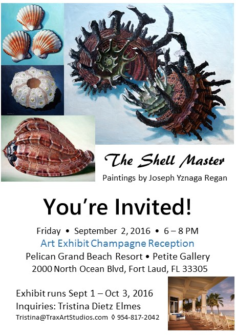 The Shell Master Pelican Grand Hotel Petite Gallery Exhibit Sept 2016.jpg
