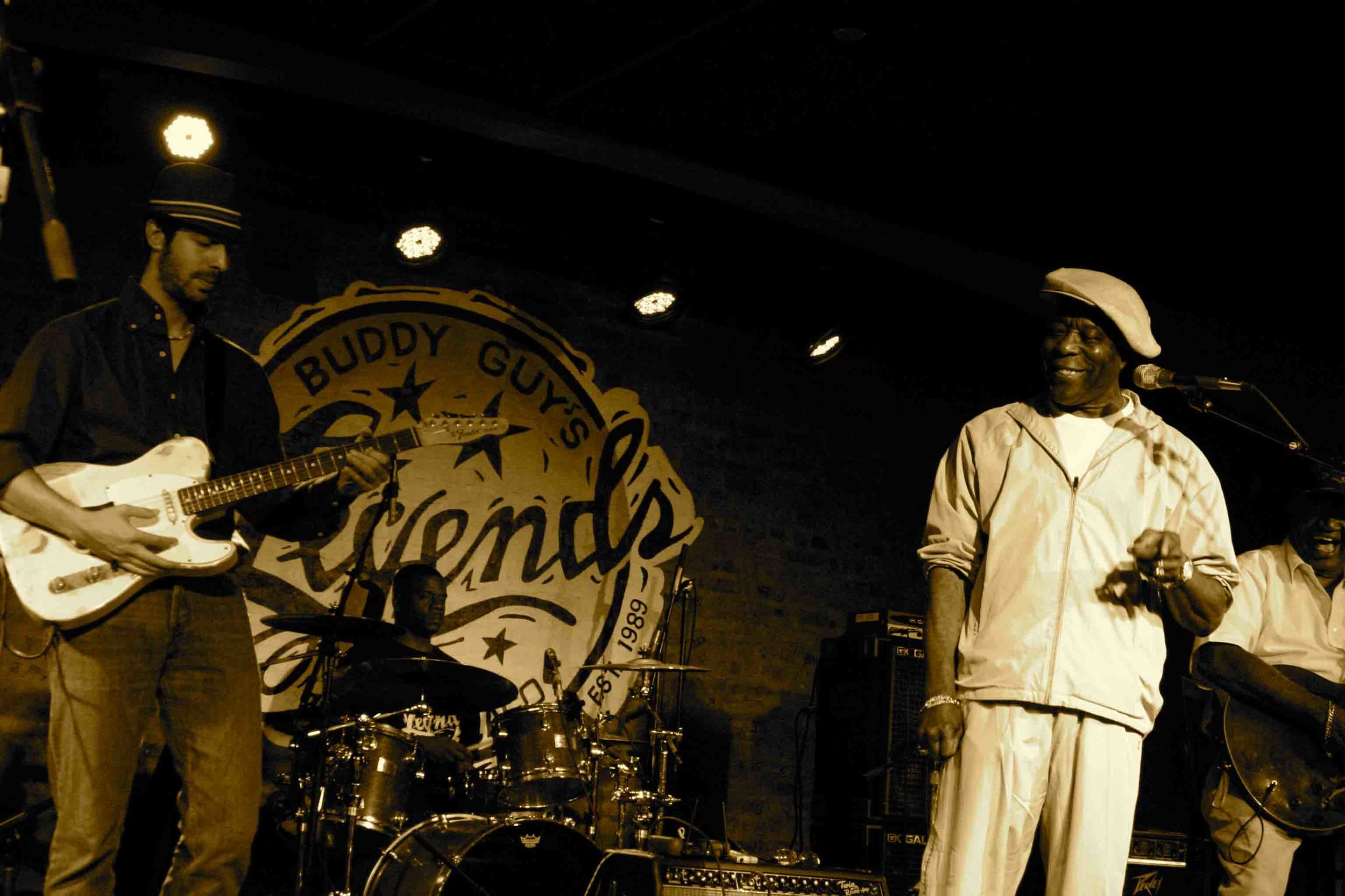 with Buddy Guy, Chicago IL 2010