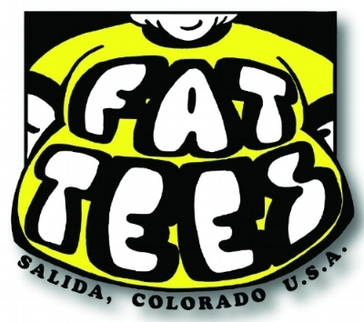 About FATTEES -  We're Salida Colorado's premier T-shirt shop and screenprinting service, and purveyors of unique and interesting garments worn around the world! Click logo for website! -