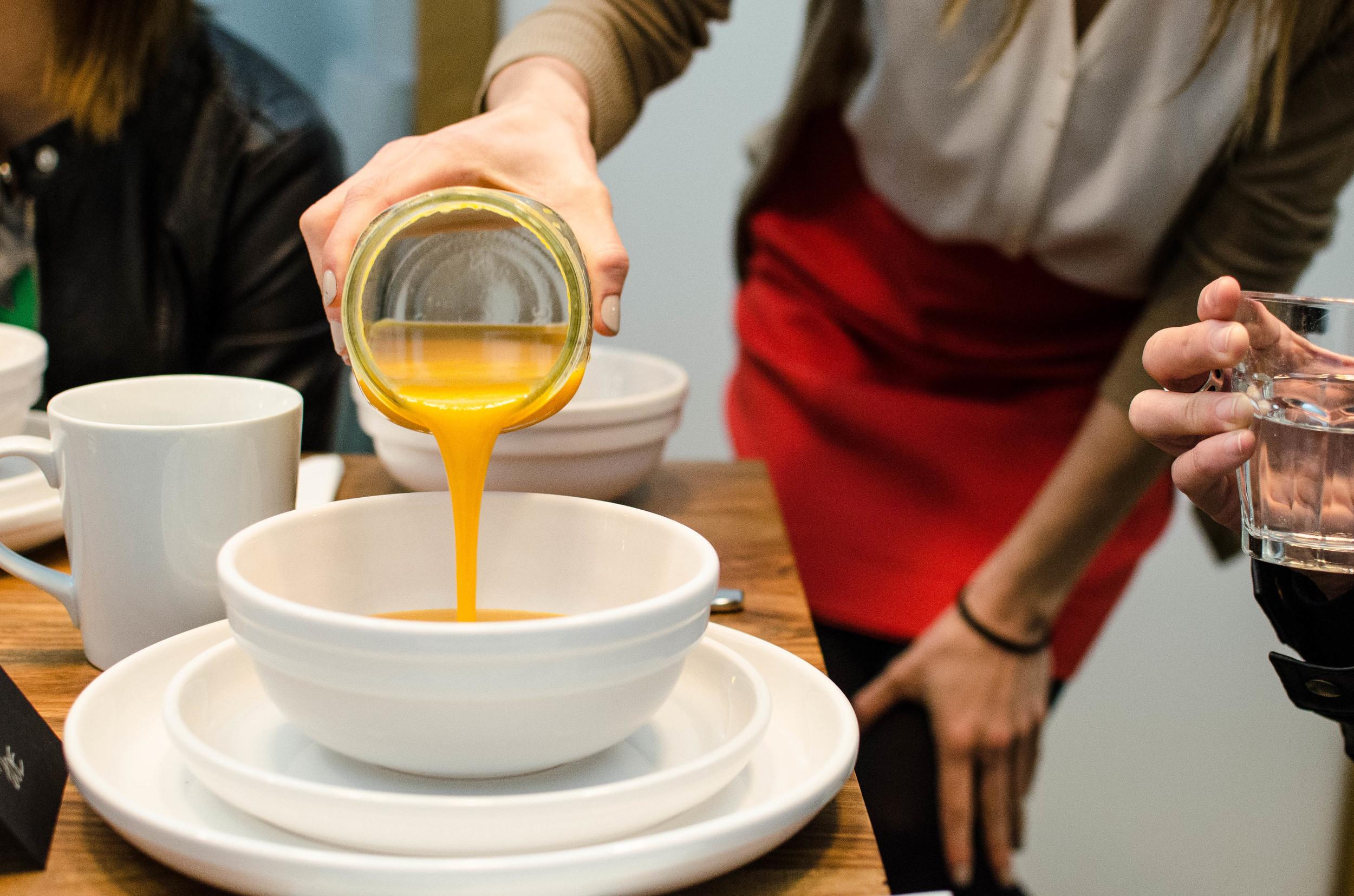 Nicole pouring soup.jpg