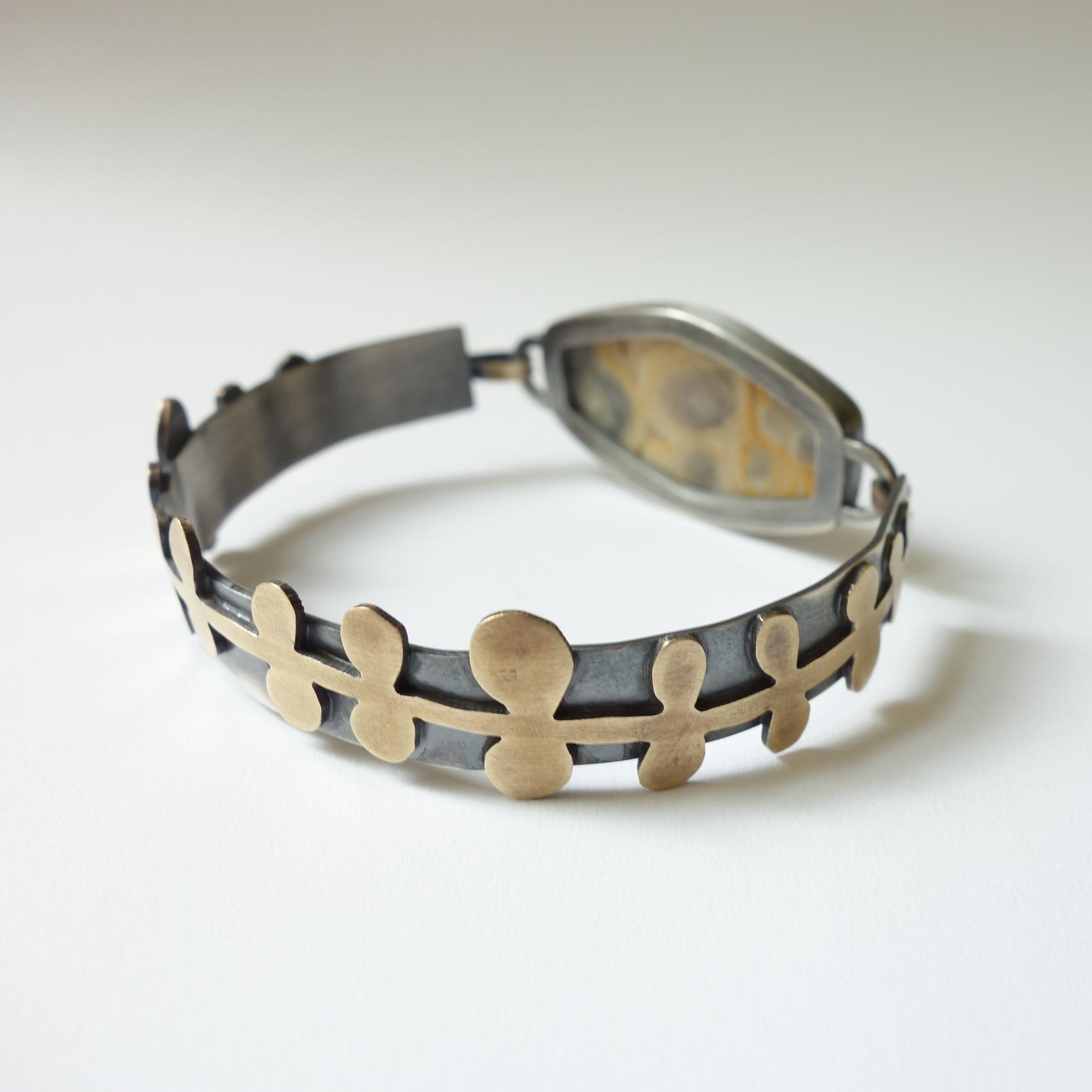 Whimsical Cuff Bracelet kansas city merit made meritmade kc handmade jewelry art jewelry unique jewelry