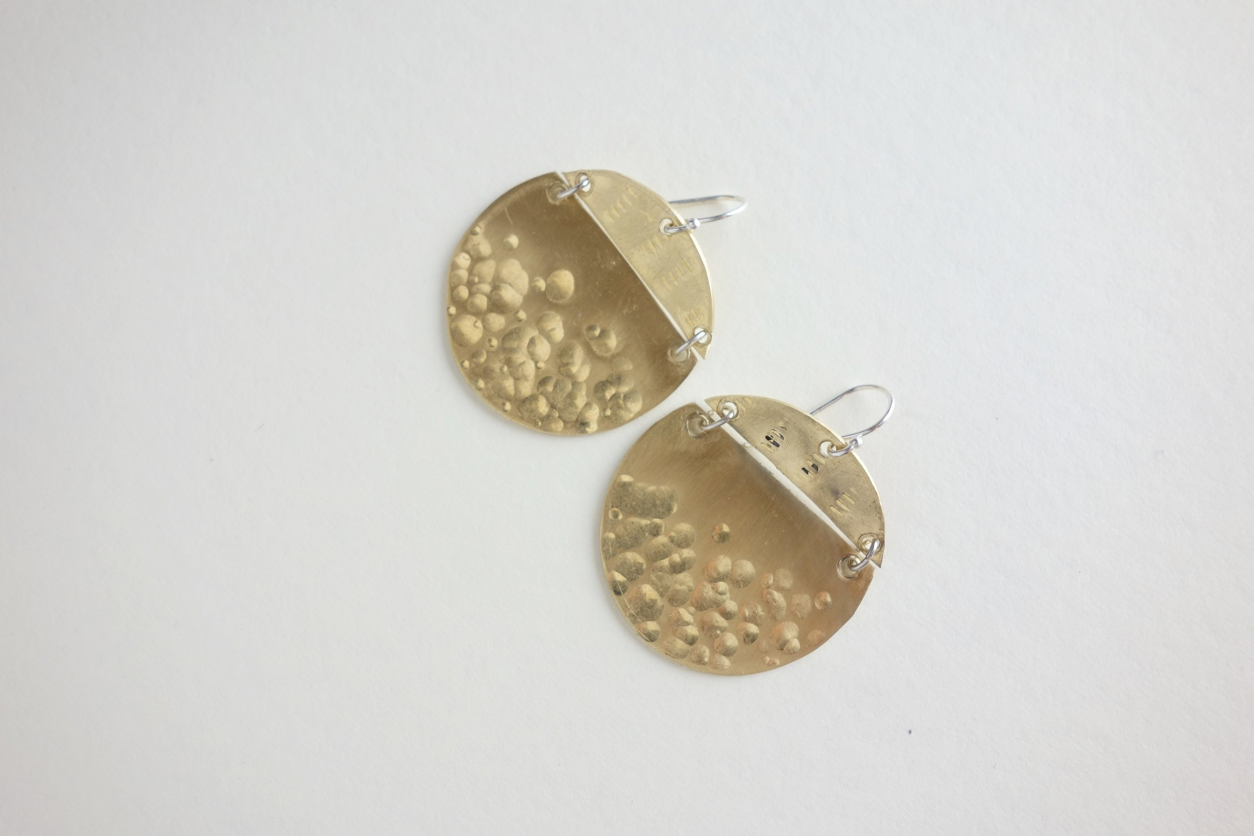 MeritMade Workshop Earring Workshop Make your own Earrings Hand Stamped