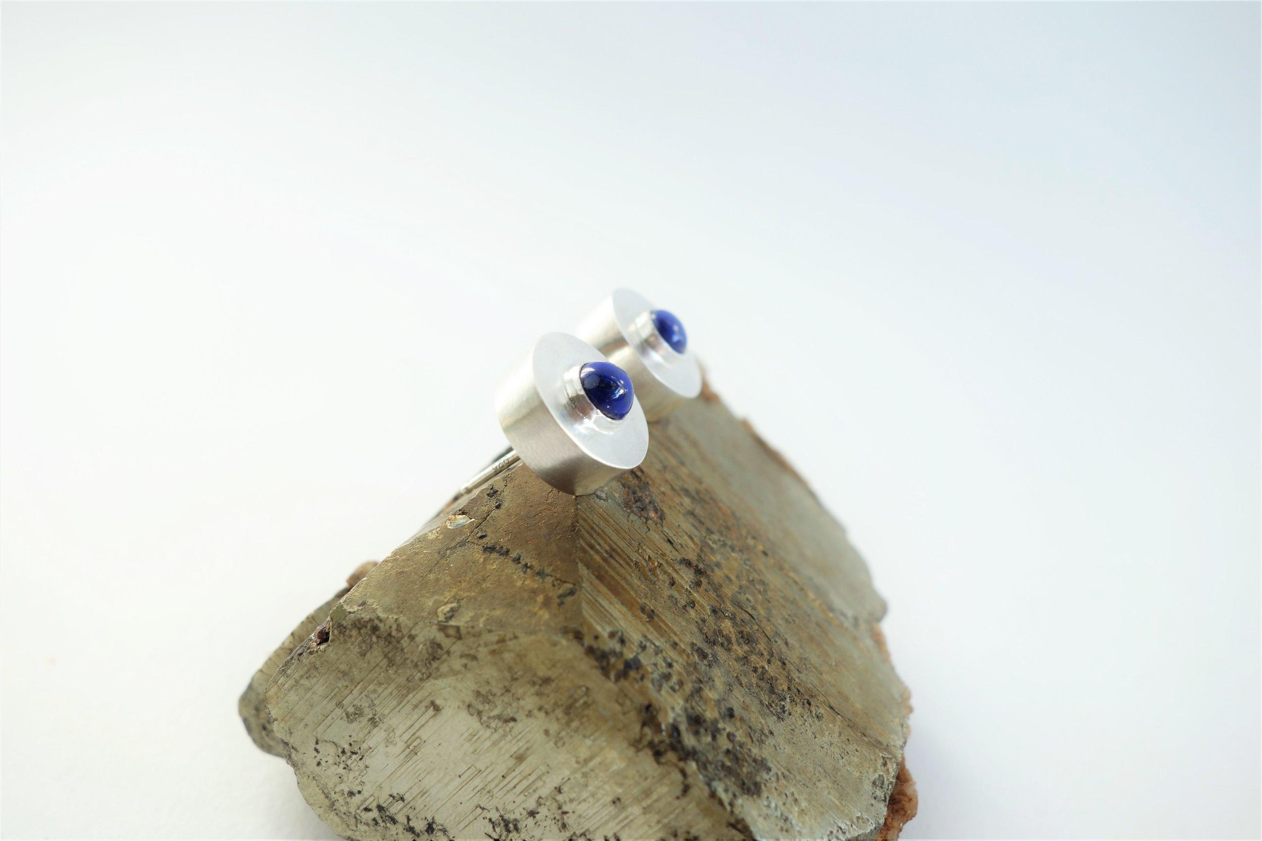 Lapis MeritMade Merit Made Handmade Kansas City Earrings