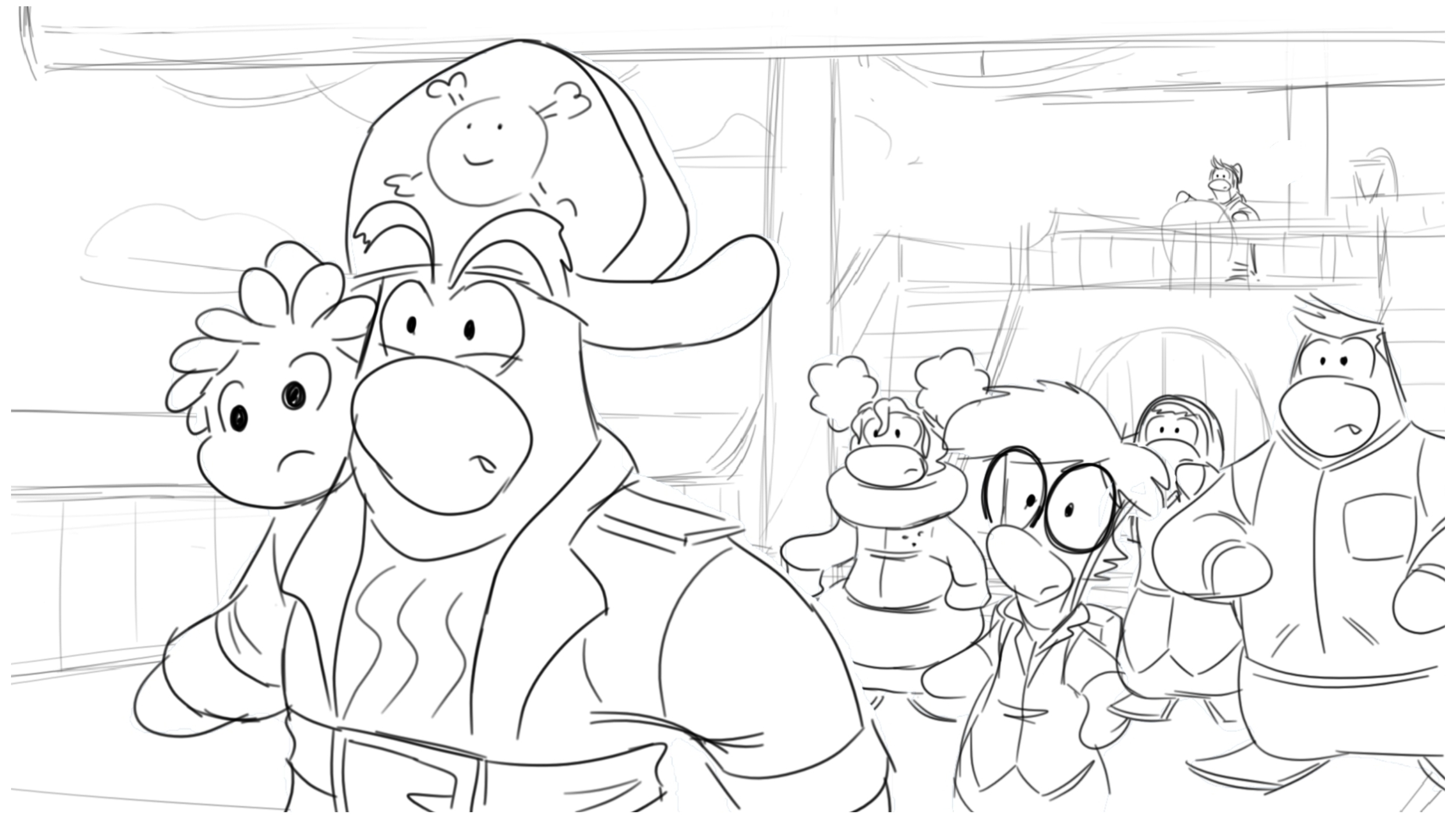 'Club Penguin' - Disney TV Special - 2014 - Lead Storyboard Artist