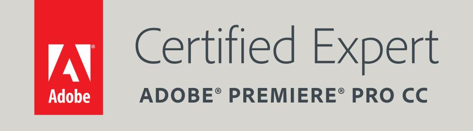 adobe premiere certified expert