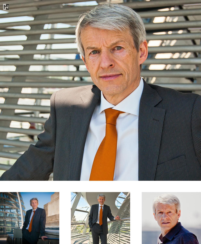 Führungsportraits von Unternehmensberater Bernd Röcken