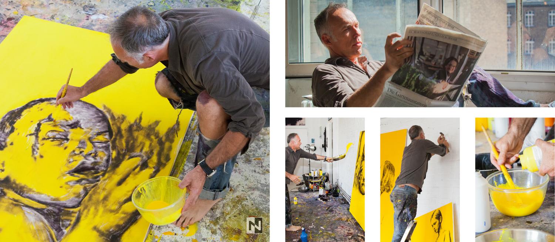Imageportraits von Maler Dieter Mammel