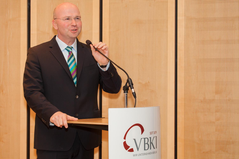 Vortrag des VBKI-Präsidenten Markus Voigt