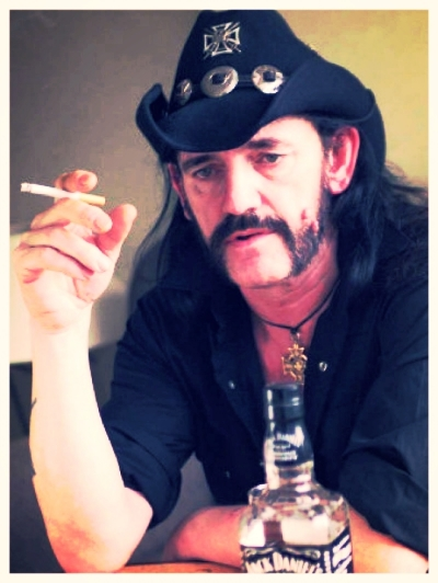 Did anyone else listen to that WTF interview with Lemmy a few months ago? He talked about switching from whiskey to vodka in order to get his health in order.