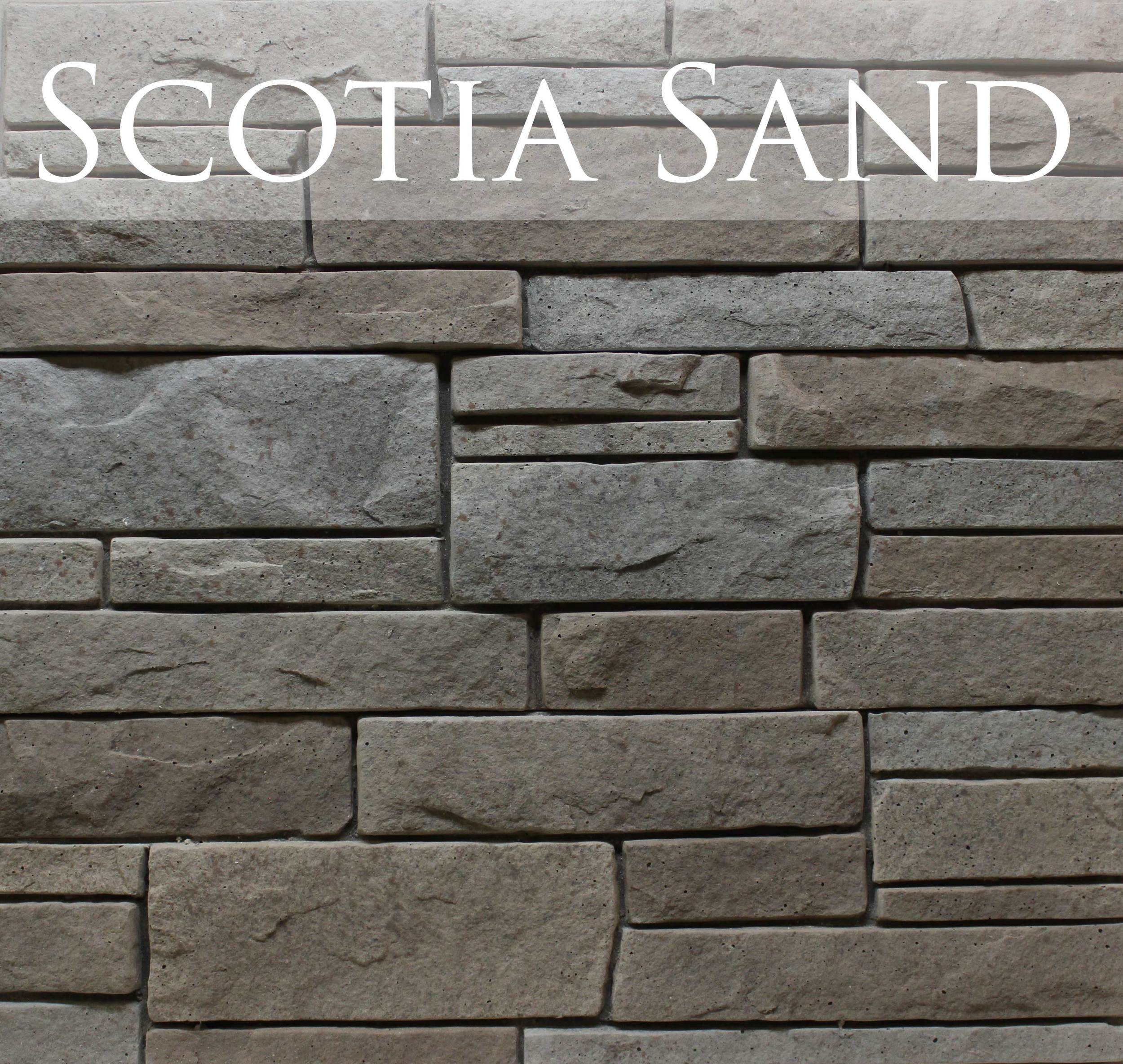 Let relaxing earth tones from the shores of Nova Scotia complement your build