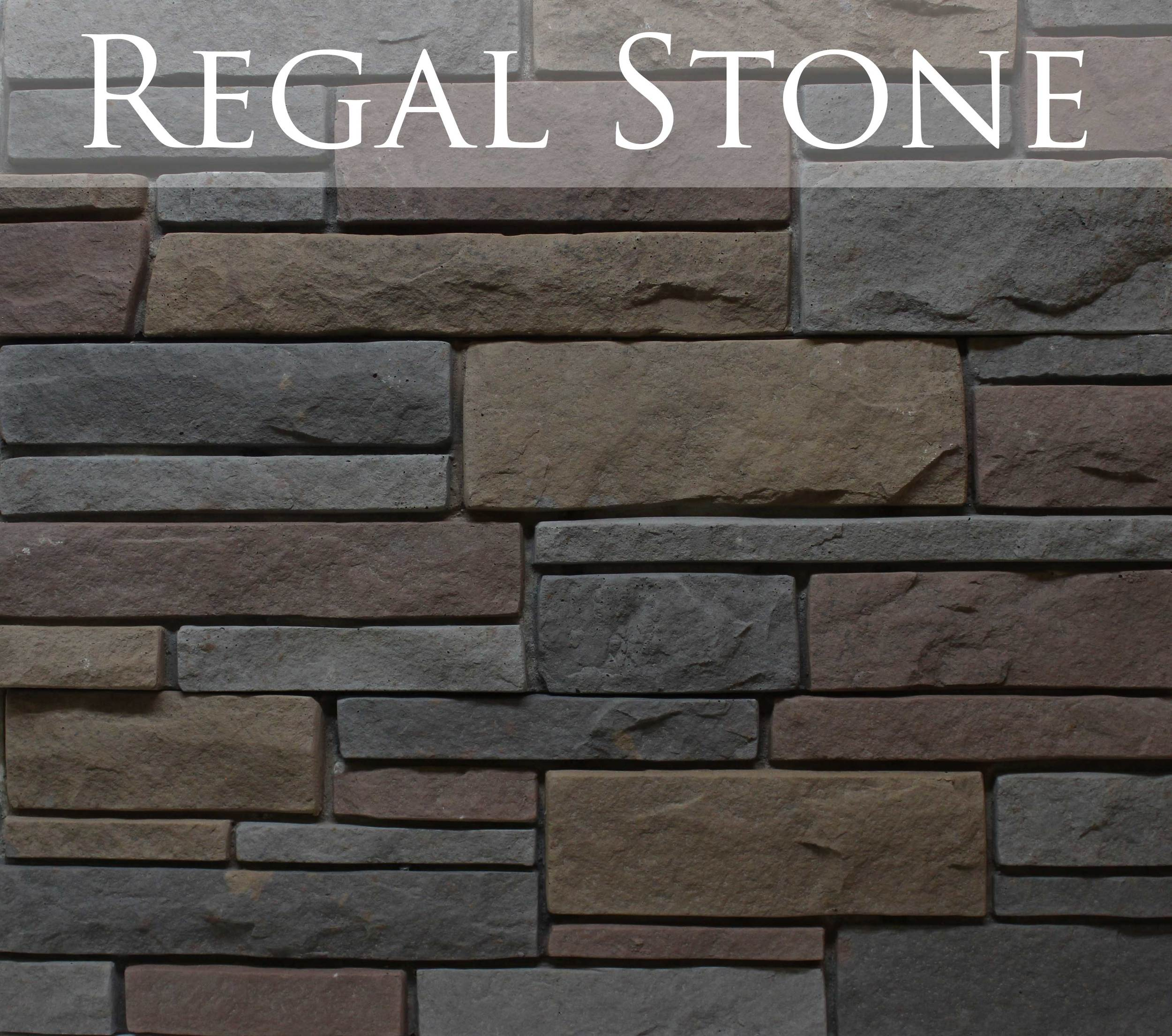 New for 2015! Regal stone marries fiery earth tones with dramatic contrast to give your project the POP it'slooking for