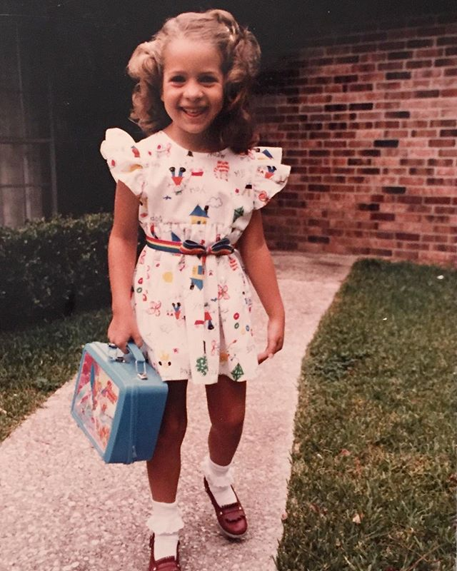 It's Day 1 of my Cultivating Confidence Challenge! Help your kids feel confident going into the next school year! . That's me on my first day of kindergarten in the early 80s. 👆😂I didn't always feel like a confident learner. I have only one significant memory of feeling particularly good at something in school before I went to college. But I went on to discover my interests, strengths and learning style and received two masters degrees. I credit this to the ability to follow through with what I ENJOYED learning and feel good about it rather than focus on how my grades felt or represented - something my mom fortunately instilled in my mindset. . To join the challenge – go to my link in profile and sign up! Or you can go to Facebook and search Written & Bound Community! We will be talking about what's working and sharing tips in the group!