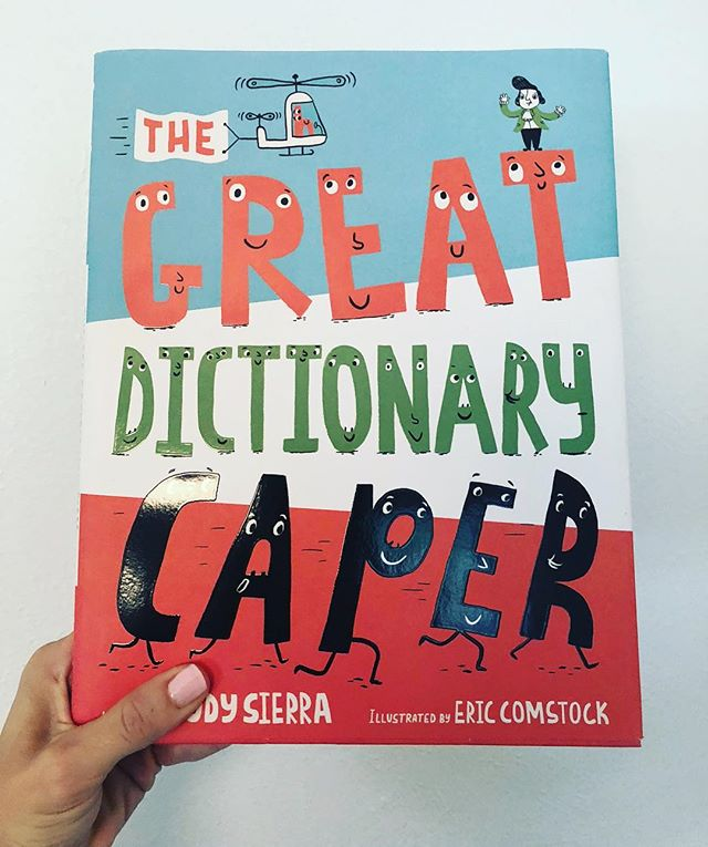 "I'm in complete denial that school will be starting soon. 🙈 One thing that is lifting my spirits is the idea of sharing this book with some sweet new faces. 📚✏️🎒The story shows what happens to words when left alone in the dictionary. The words get so bored that they form a parade. 🥁 ""Action words like to show off….Homophones tango two by two and three by three. Antonyms play hide and seek."" 👌What a clever way to illustrate vocabulary. I've added the link to the book in my profile. 😉"