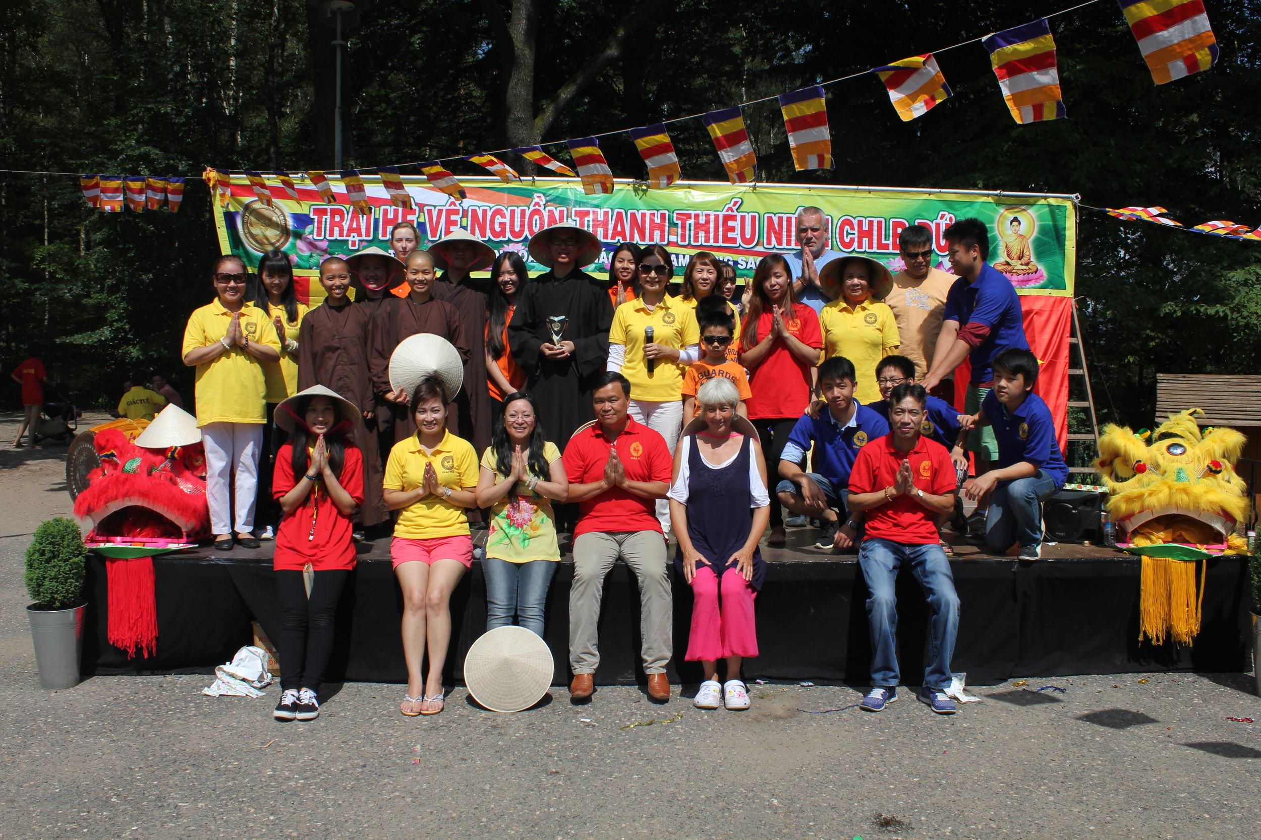 Internationales Buddhistisches Sommerlager, Juli 2014
