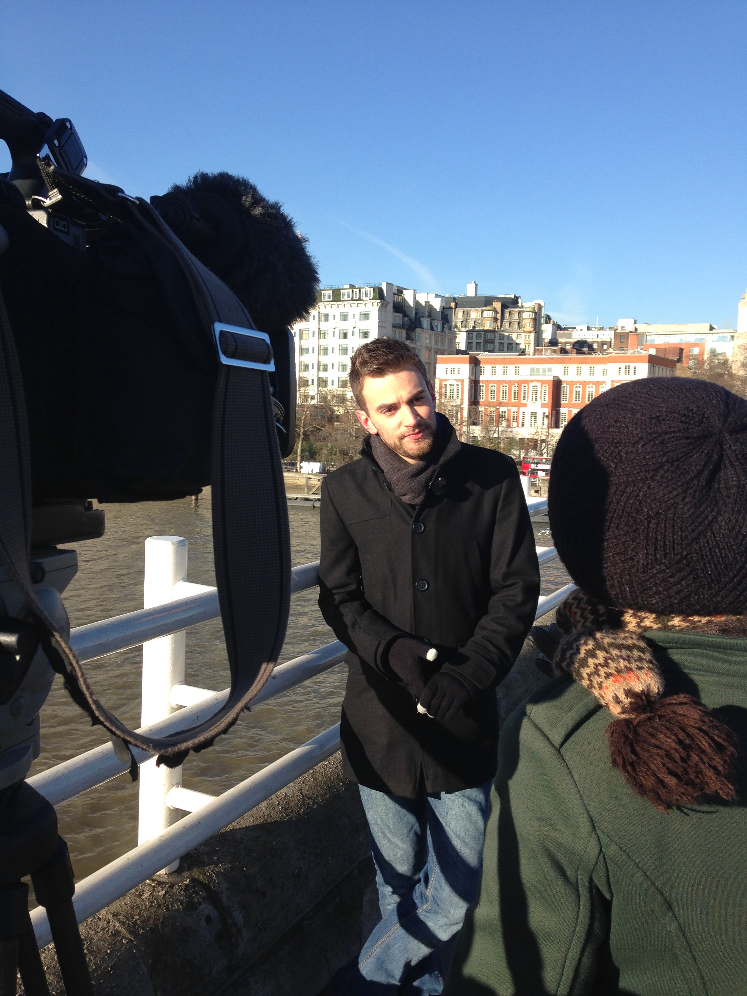 Filming BBC London.JPG