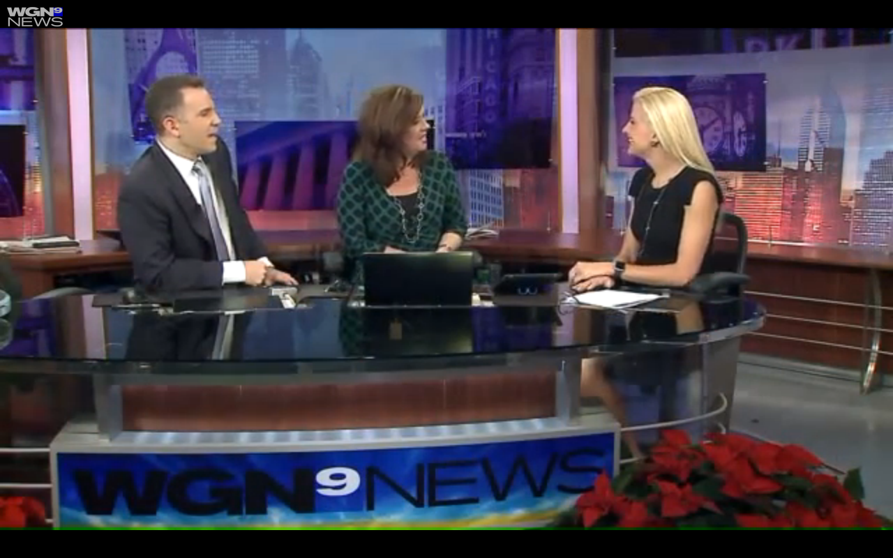 Giving WGN-TV viewers some post-holiday travel ideas