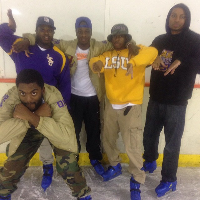 Come Owt to Bruhz on Ice at Leo's Iceland. See if you can keep up with the Bruhz