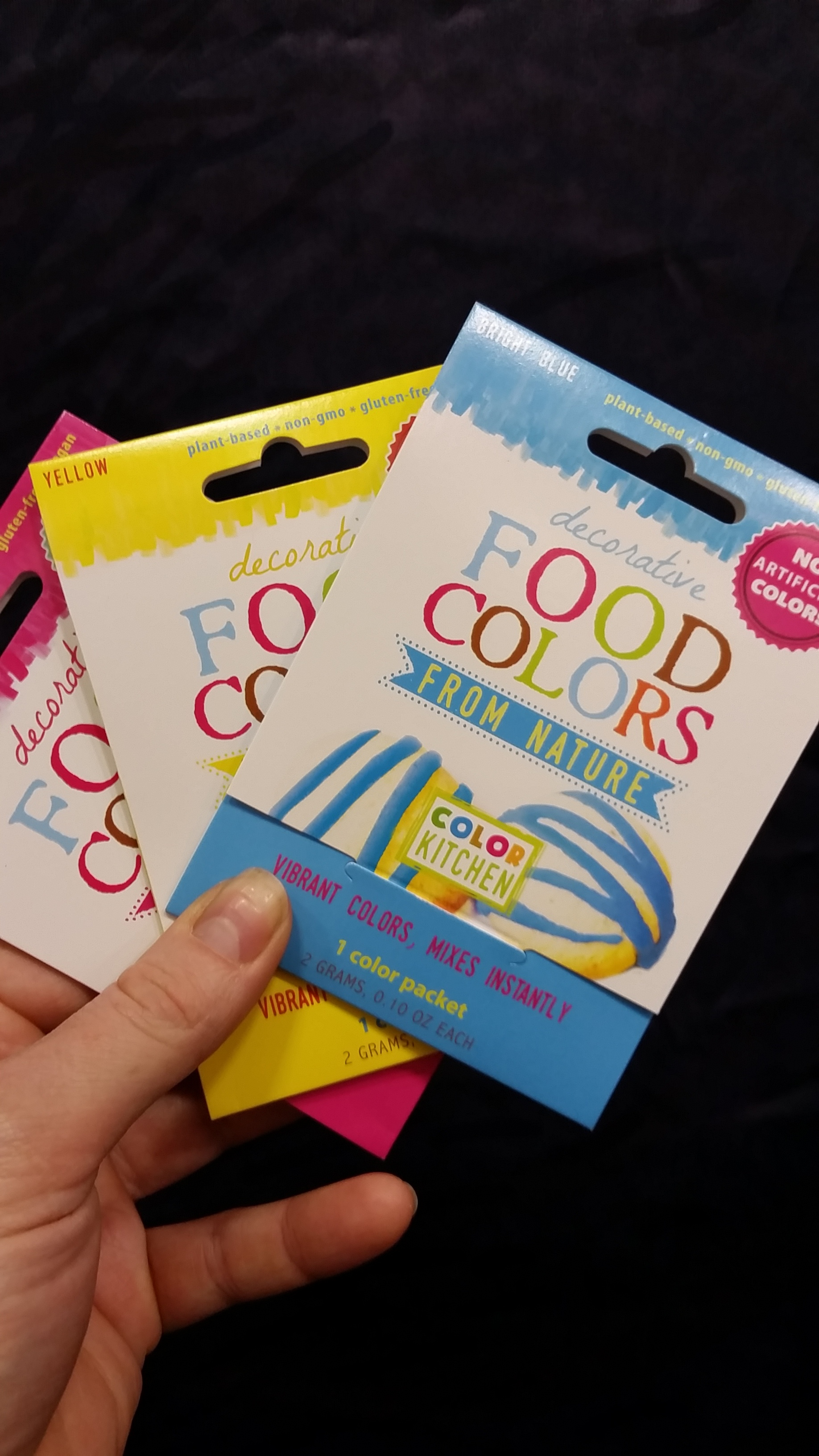 Get em while their hot! A way easier way to get vibrant, naturally colored frosting.