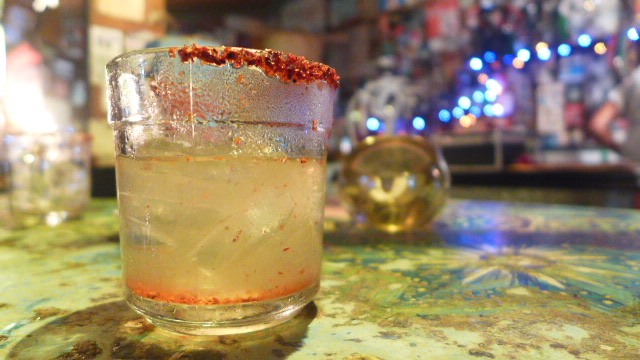 Margarita with Chile Salt rim