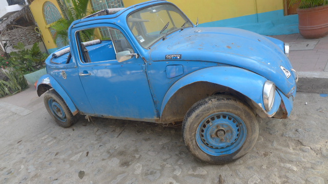 We saw so many sweet iterations of the Beetle in Sayulita!