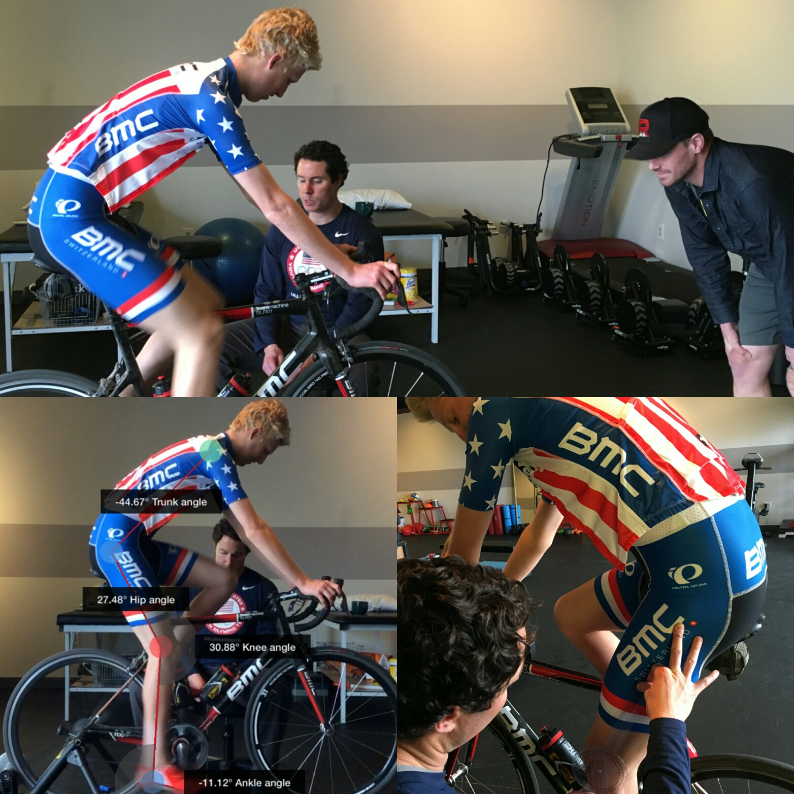 Keegan Swirbul of BMC Development and current USA U-23 National Champ understands the importance of off the bike movements on his riding.