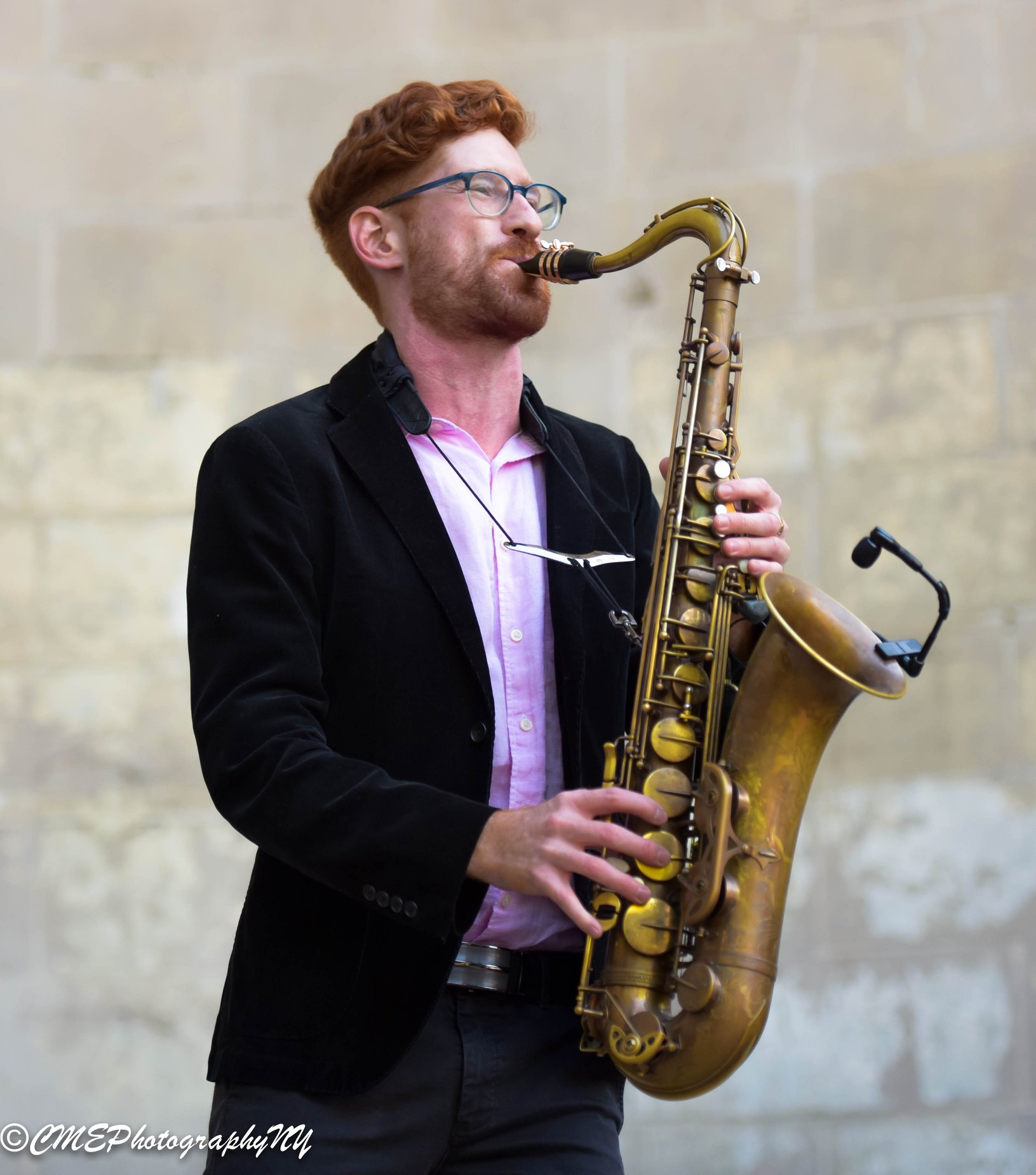 Connell Thompson, saxophonist