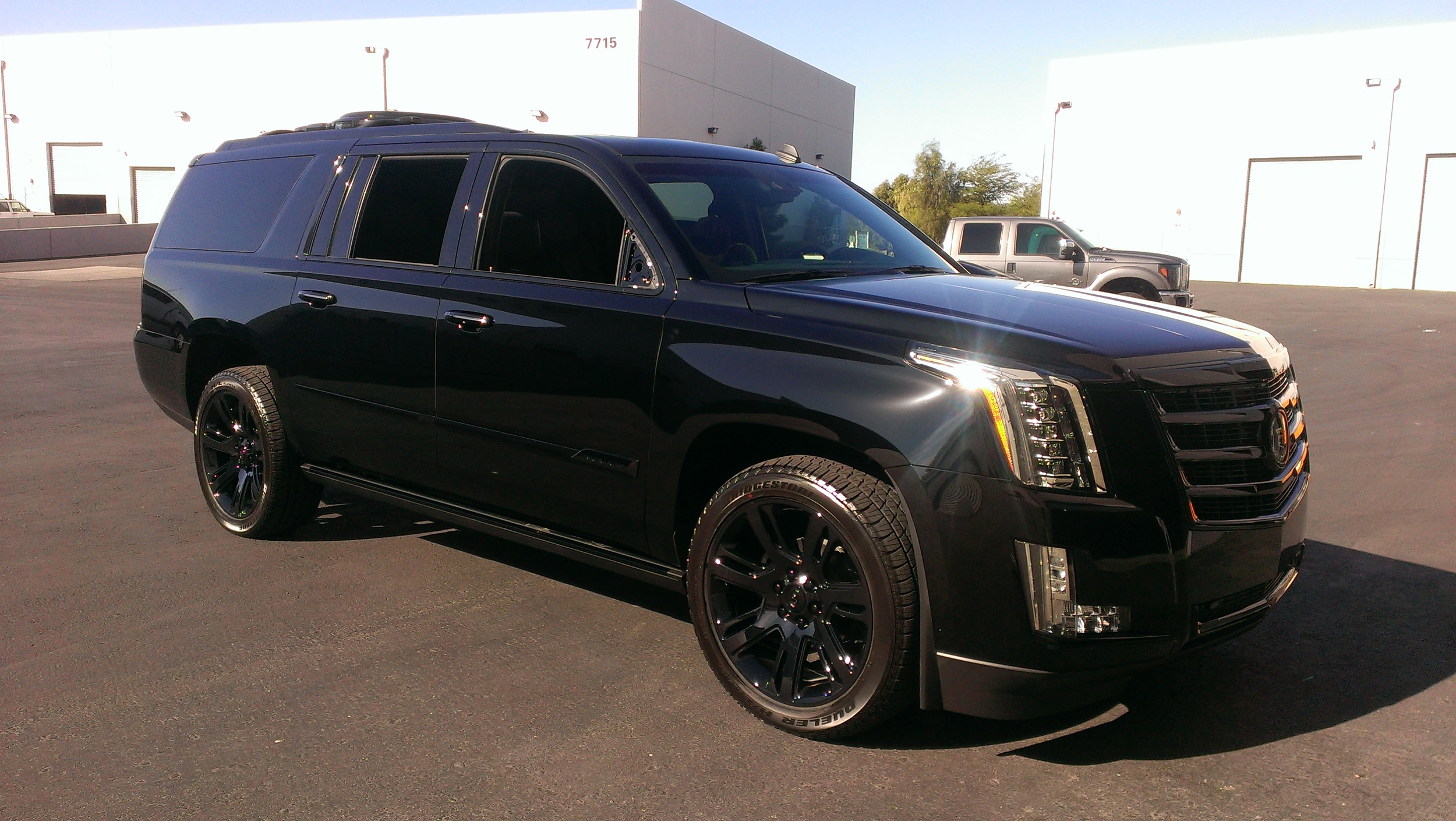 Cadillac Escalade - Gloss Black Chrome Delete — Incognito Wraps