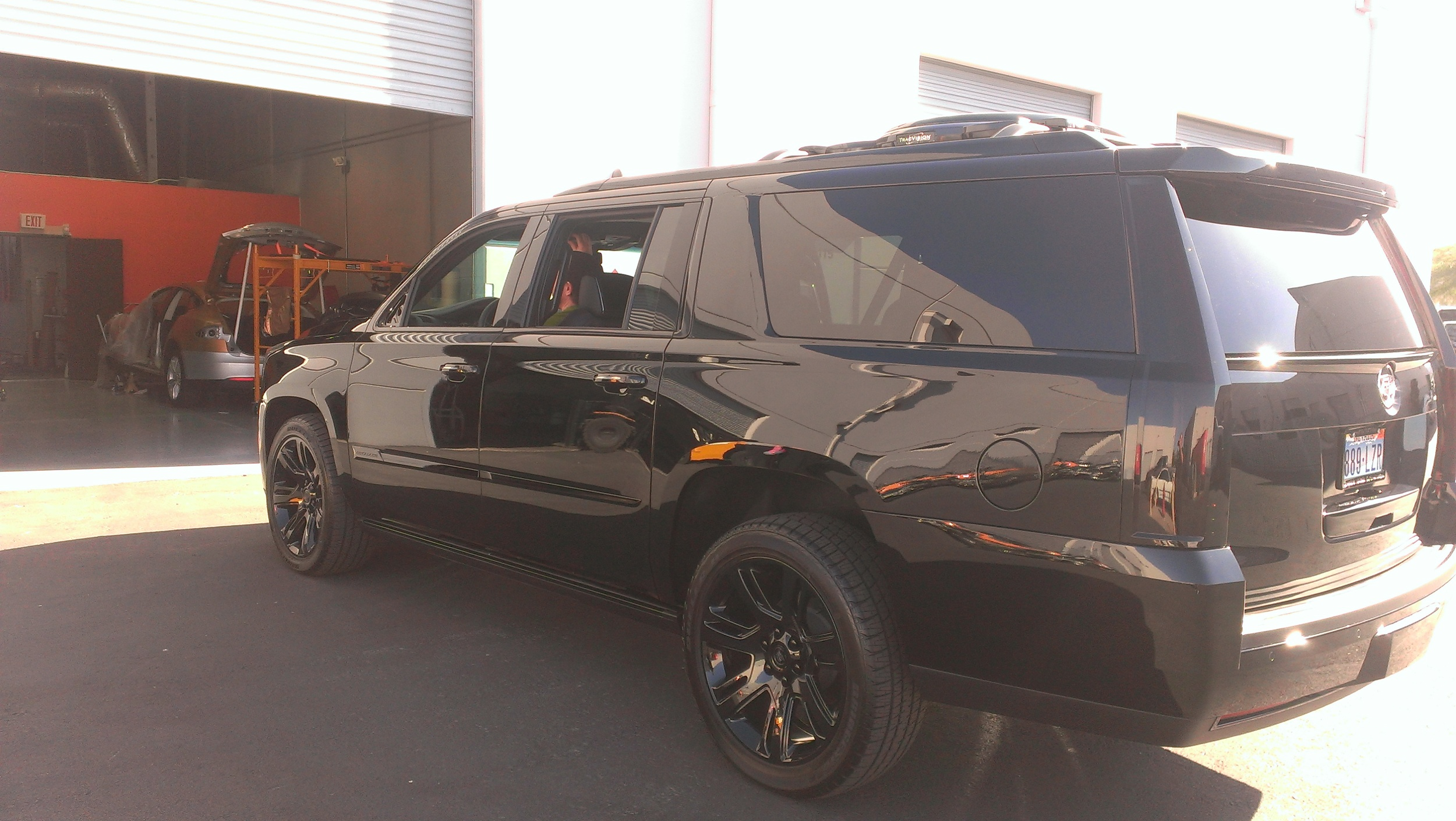 Cadillac Escalade - Gloss Black Chrome Delete — Incognito Wraps