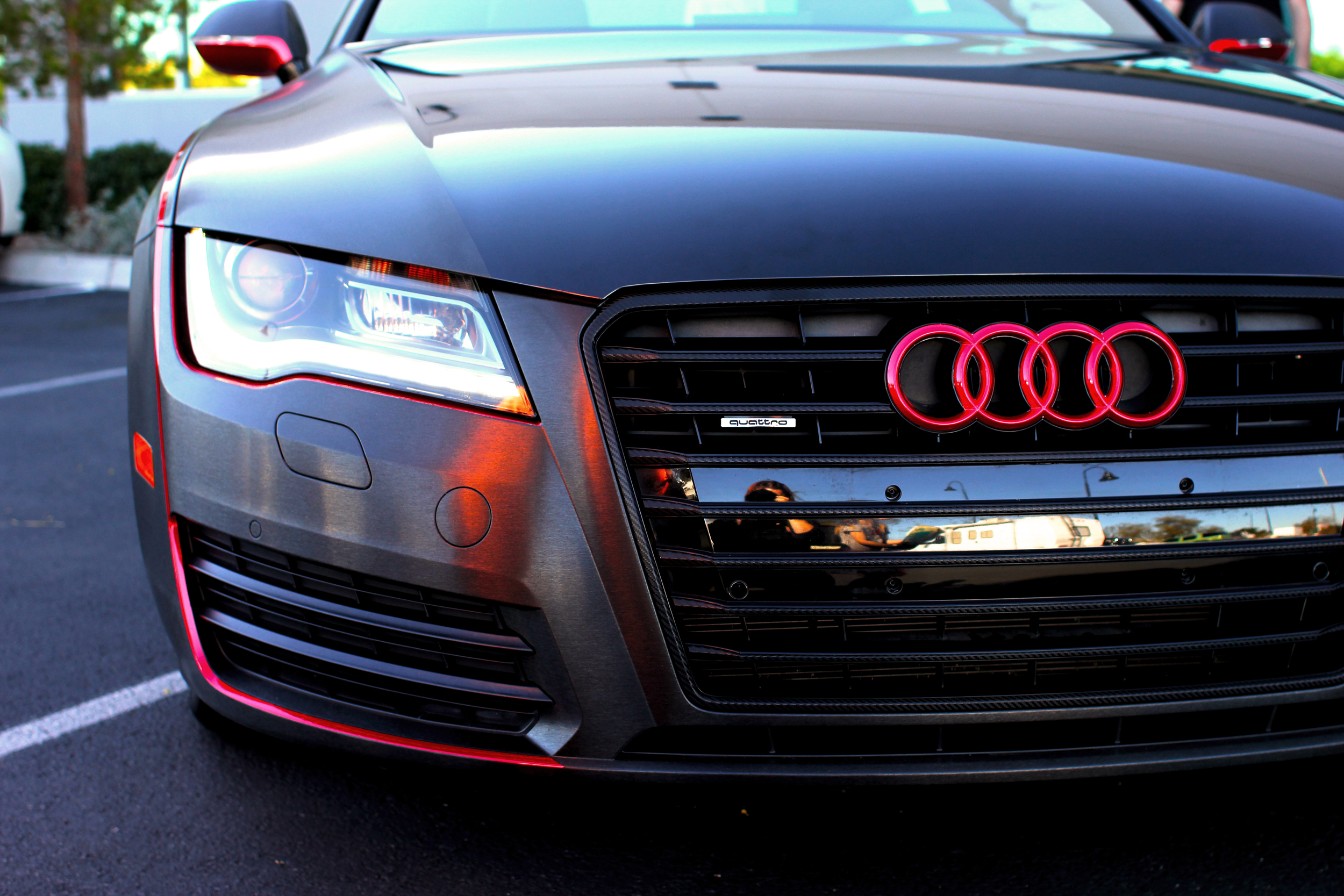 Audi A7 Brushed Black And More Incognito Wraps