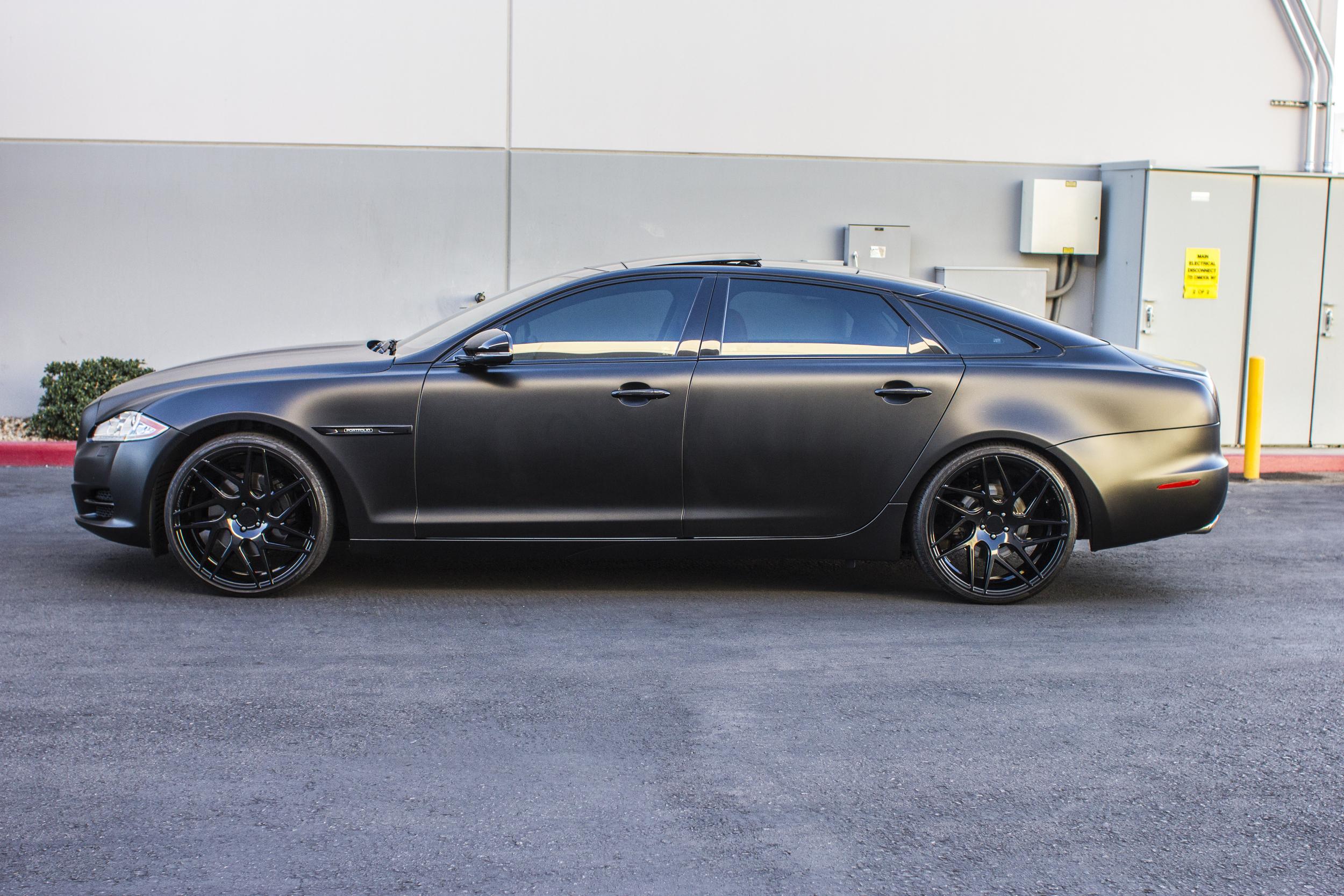 Jaguar Xjl Satin Black Incognito Wraps