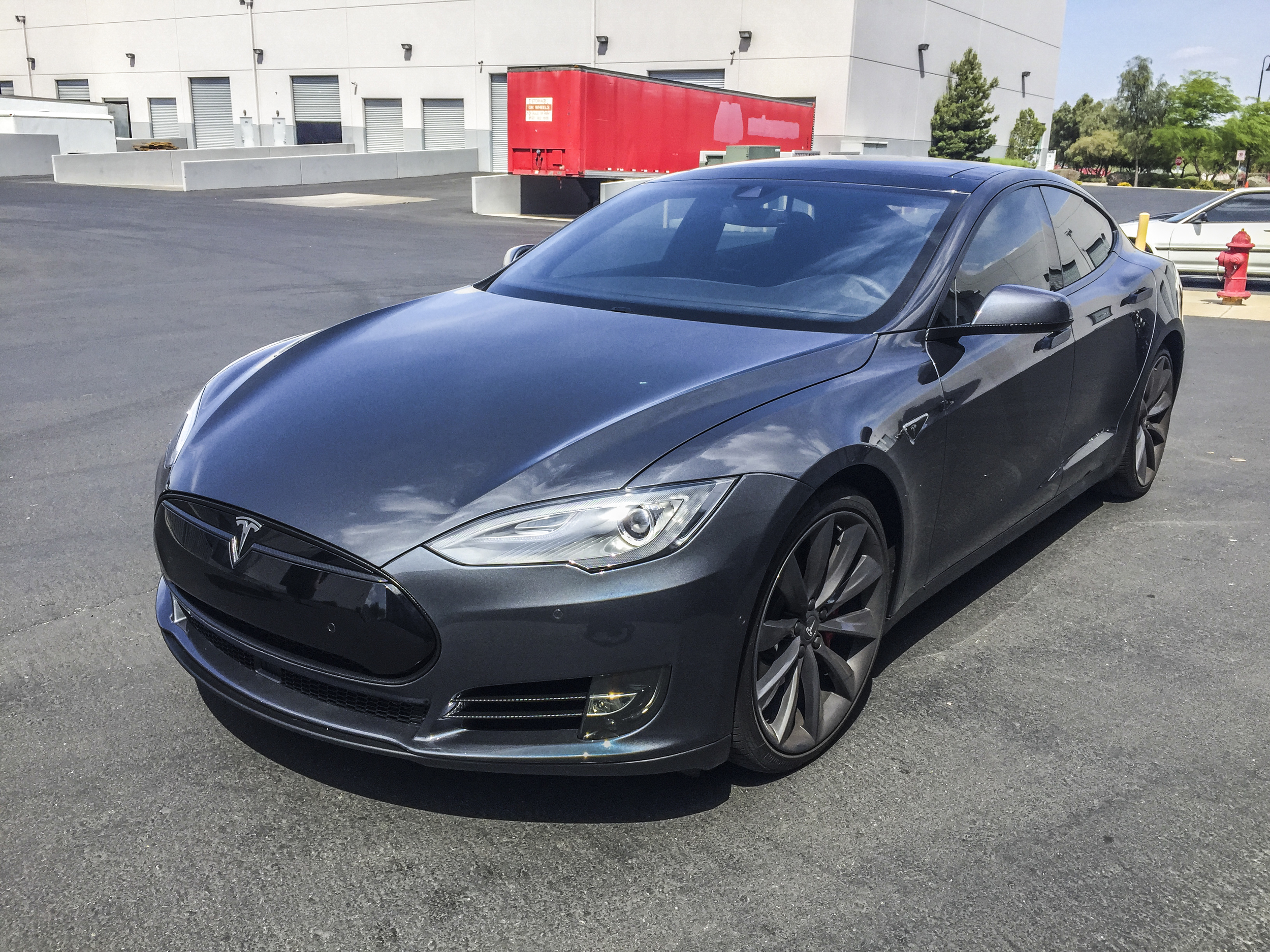 Tesla Model S - Carbon Fiber Chrome Delete — Incognito Wraps
