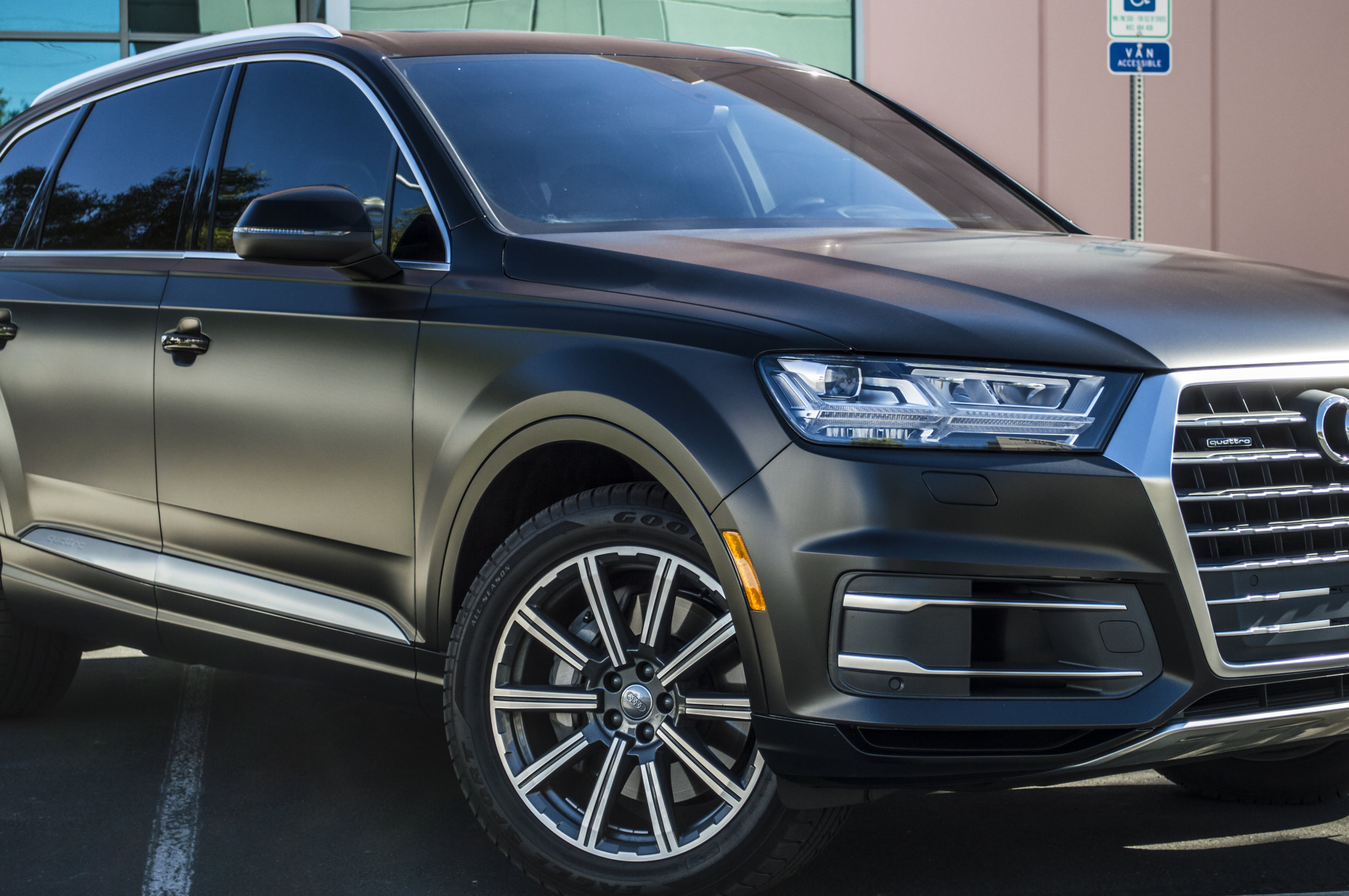 Audi Q7 - Stealth Paint Protection Film — Incognito Wraps