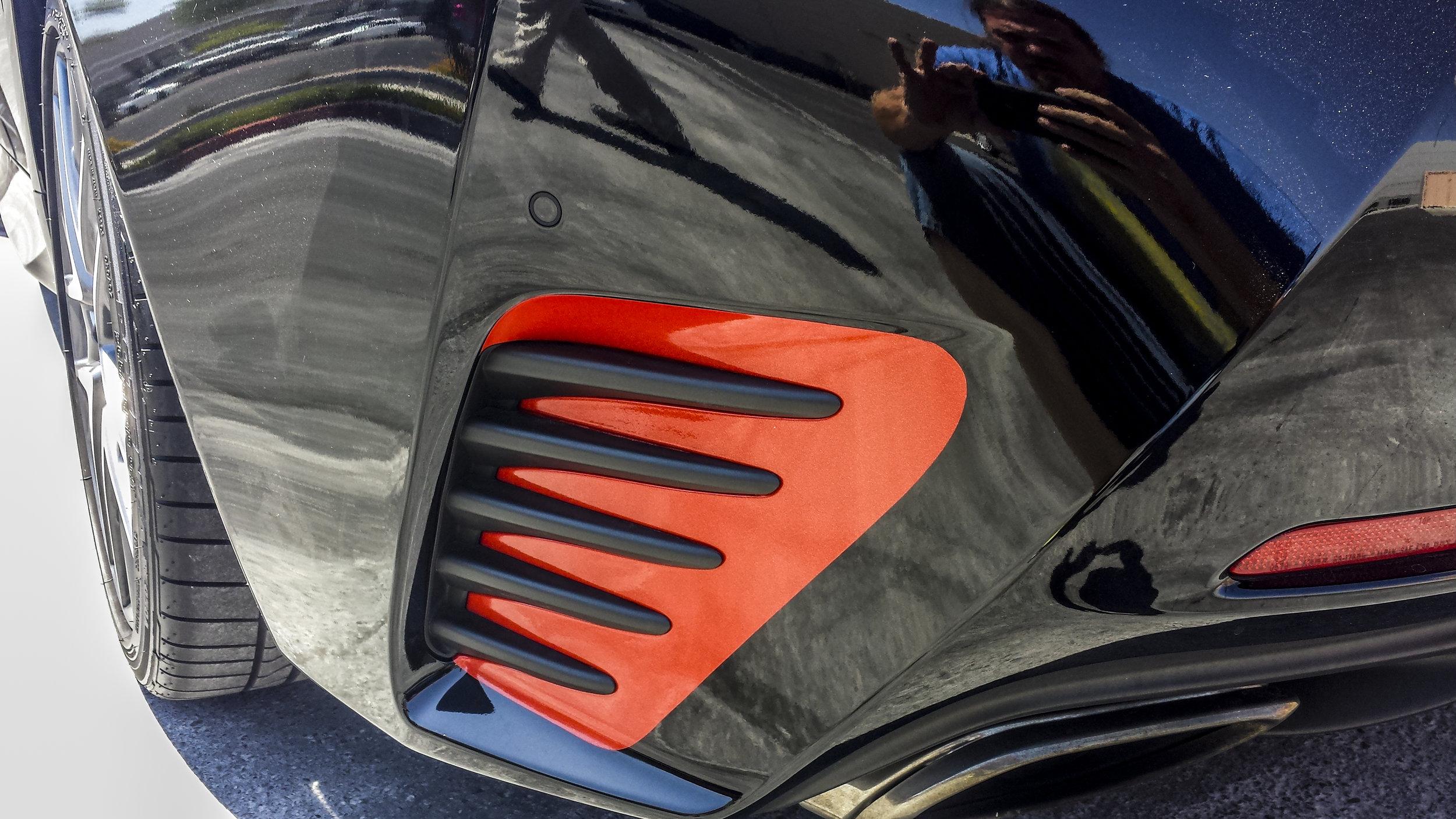 Lexus RC350 Red Orange Flake