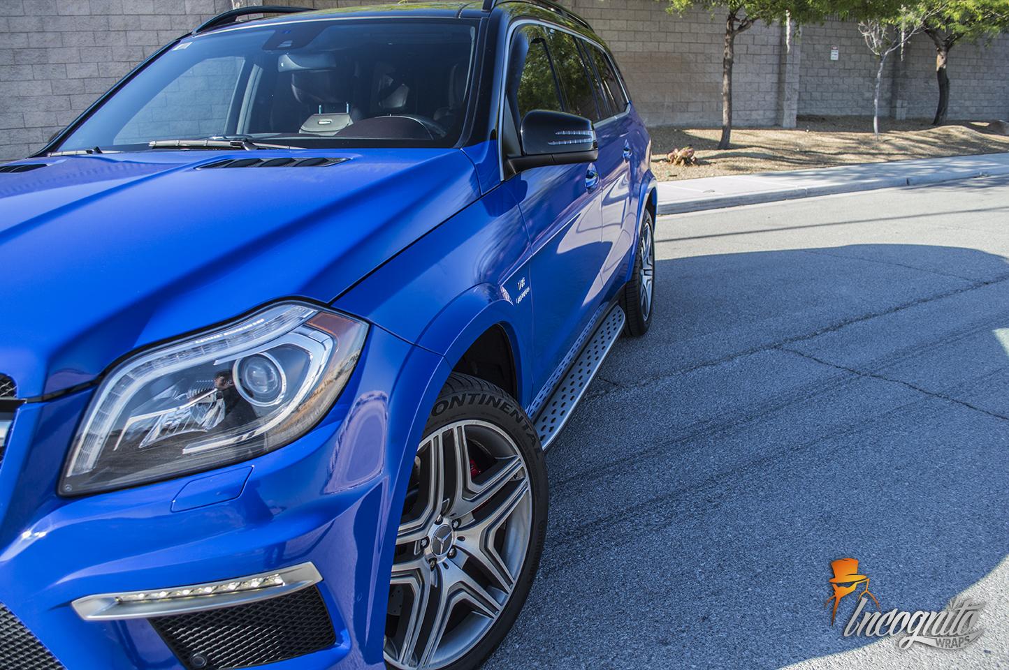 Mercedes GL63 Dark Blue